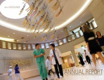 ANNUAL REPORT - St. Joseph Medical Center