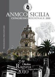 Programma Preliminare Congresso Regionale ANMCO SICILIA 2010