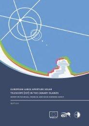 european large aperture solar telescope (est) - Otri - Instituto de ...