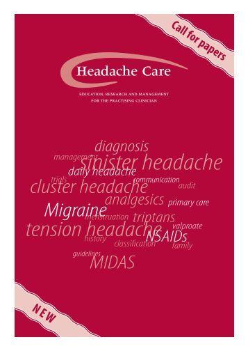 sinister headache - Migraine in Primary Care Advisors
