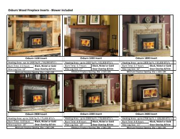 Wood Fireplace Inserts - The Stove Store and More