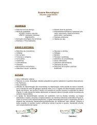 Exame Neurologico - USP 2006 Dr. Eduardo Longhi Bordin - marchioli