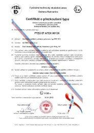 .Inn Certifikát o přezkoušení typu - ALTEKO