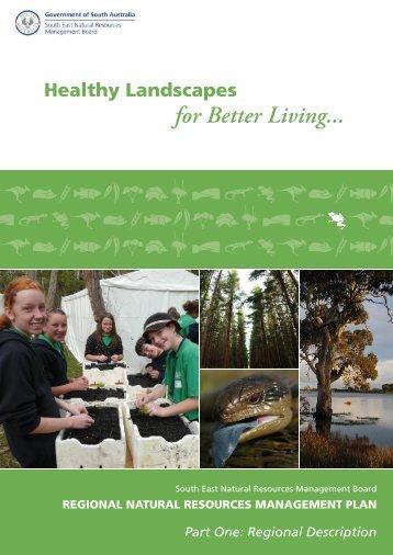 Regional Description - South East Natural Resources Management ...