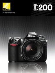 Nikon D200 Brochure