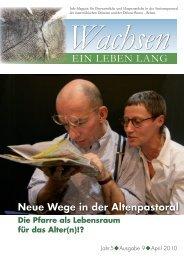 EIN LEBEN LANG - Diözese Eisenstadt