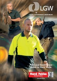 The Local Government Guide to Hard Yakka