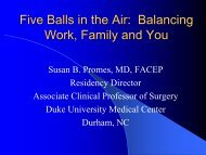 Five Balls in the Air: Balancing Work, Family and You - Council of ...