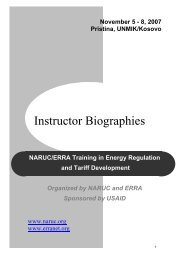 Instructor Biographies - Narucpartnerships.org