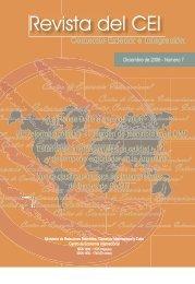 Revista del CEI 7.pdf - Centro de Economía Internacional
