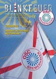 40 Jahre OSC IndOOr Flag-FOOtball MeISterSChaFt