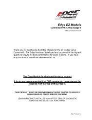 Dodge EZD1000 - Exhaust Gas Technologies Inc.
