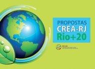 Propostas CREA-RJ Rio+20