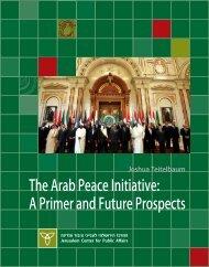 Arab Peace Initiative final.indd