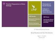 Teacher Preparation in Urban Settings - Center for Urban Education