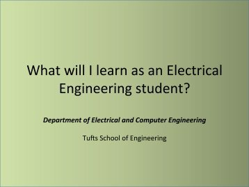 Electrical Engineering Program - Department of Electrical ...