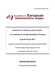 le jeudi 19 mai 2011 - droit public en europe