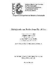 Mobilidade em Redes Sem Fio Ad hoc - GARF - UFRJ