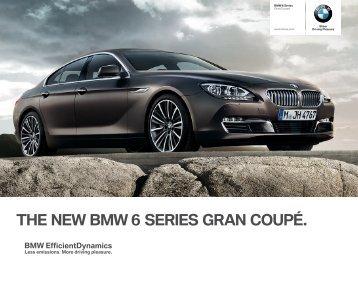 THE NEW BMW  SERIES GRAN COUPÉ. - BMW-a