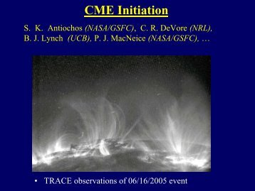 CME Initiation