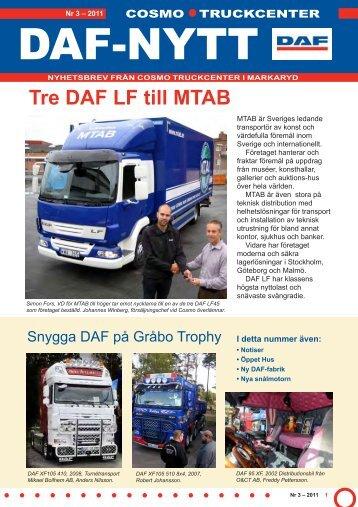 Nummer 3, 2011 - DAF lastbil