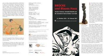 BRÃœCKE und Blaues Haus - stein-steinfeld.de