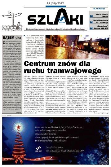 Centrum znów dla ruchu tramwajowego - KZK GOP