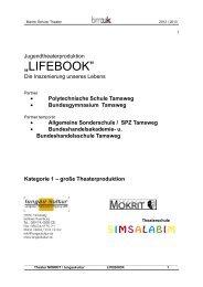 Polytechnische Schule Tamsweg - Lungauer Kulturvereinigung