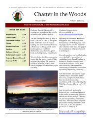 February 2013 Chatter colour - Townsite of Redwood Meadows