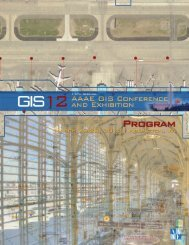 Conference Program (PDF) - American Association of Airport ...