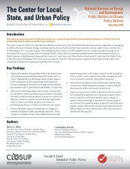 National Surveys on Energy and the Environment - Center for Local ...