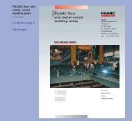 FILARC flux - Esab