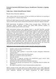 Perakende Sektöründe RFID (Radio Frequency ... - Denetimnet.Net