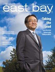 Spring 2012 - California State University, East Bay