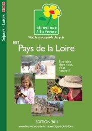 Pays de la Loire - Bienvenue à la Ferme