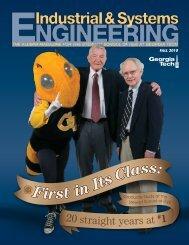 Fall 2010 - H. Milton Stewart School of Industrial & Systems ...