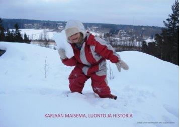 KARJAAN MAISEMA, LUONTO JA HISTORIA