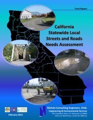California Statewide Local Streets and Roads Needs ... - Merritt