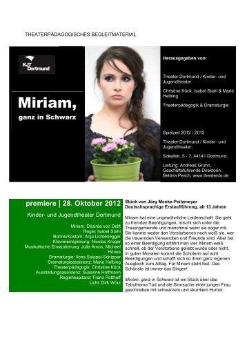 premiere | 28. Oktober 2012 - Theater Dortmund