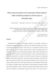 Synergistic effects of glycerol and glucose on enhancement of the ...