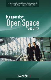 Kaspersky Open Space Security - A Soft 1