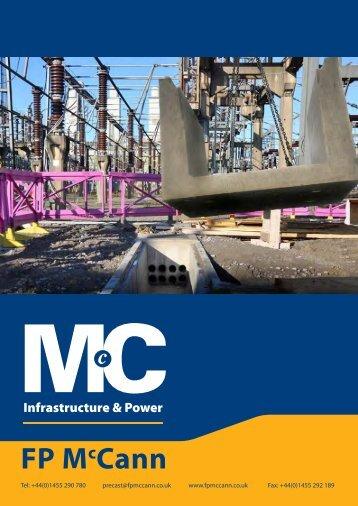 Infrastructure & Power Brochure - FP McCann Ltd