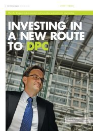 Investing in a new route to DPC - Shell Chemicals Magazine Winter ...