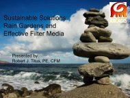 Rain Gardens and Effective Filter Media - Home for the New York ...