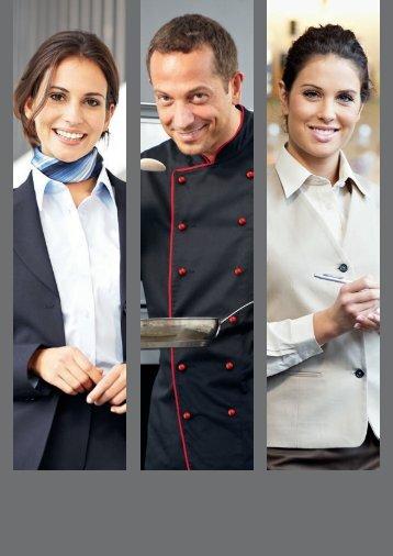 Kochen und Service.