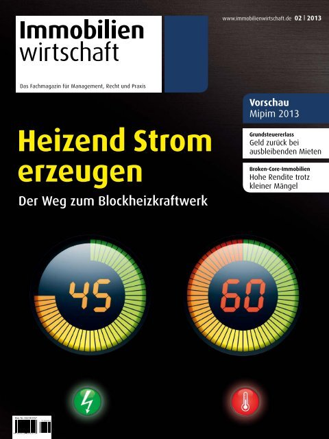 Heizend Strom erzeugen - Haufe.de