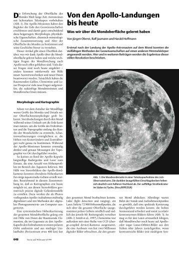Sterne und Weltraum 1999 - Spektrum der Wissenschaft