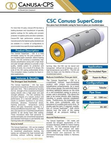 CSC Canusa SuperCase - Canusa-CPS