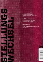 Ausgabe 4 - Stellungswechsel-Magazin