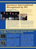 Uyemura PCB Newsletter - Immersion Tin, Immersion Gold ... - Page 3